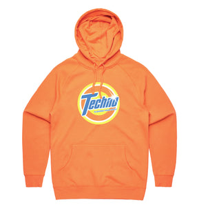 TECHNO CLEAN HOODIE [OXI ORANGE] - Boogiemade