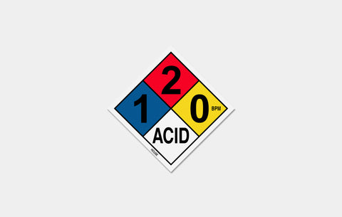 ACID SIGN STICKER - Boogiemade