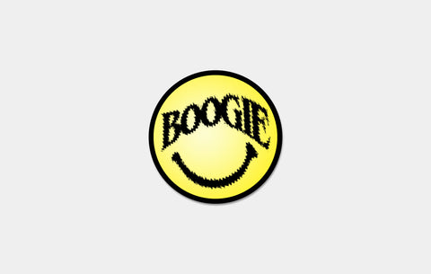 BOOGIE SMILEY STICKER - Boogiemade