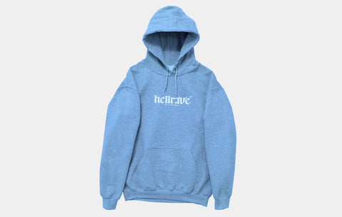 HELLRAVE HOODIE [ASTRO BLUE] - Boogiemade
