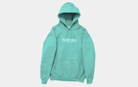 HELLRAVE HOODIE [MINT] - Boogiemade