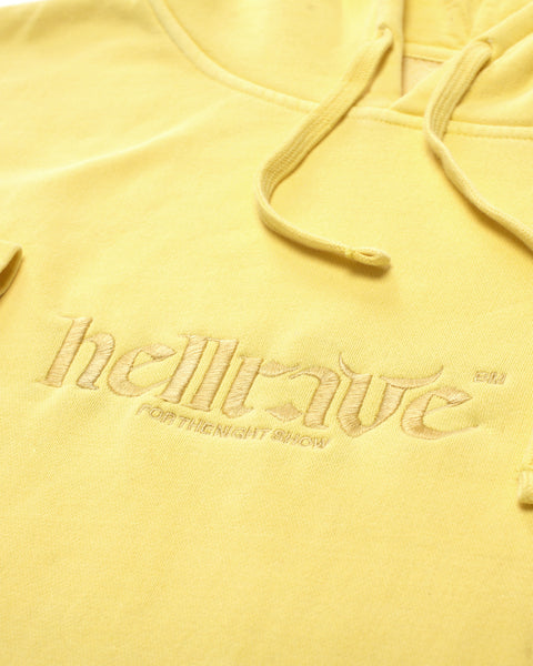 HELLRAVE HOODIE [WAREHOUSE YELLOW]