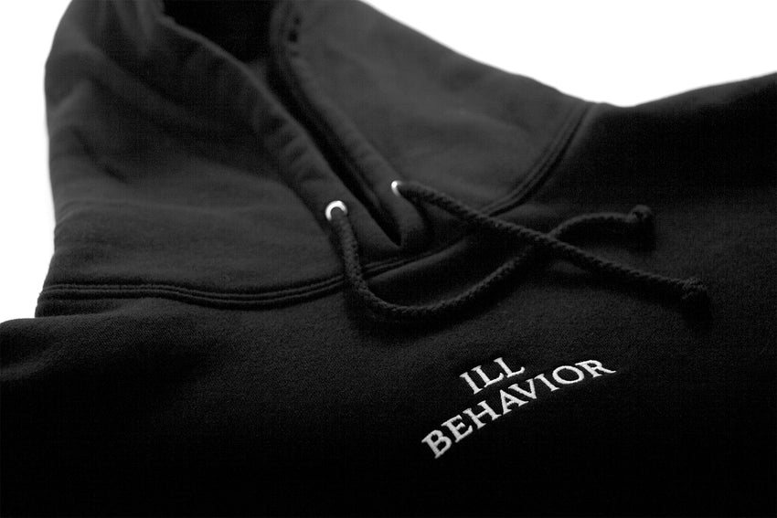 ILL BEHAVIOR HOODIE [BLACK] - Boogiemade