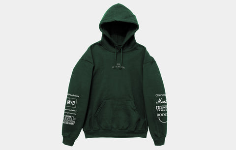 ILL BEHAVIOR HOODIE [VELVET GREEN]