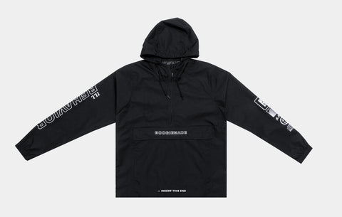 ILL BEHAVIOR WINDBREAKER [CORE BLACK]