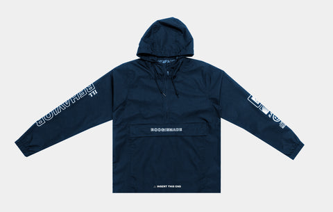 ILL BEHAVIOR WINDBREAKER [NAVY] - Boogiemade