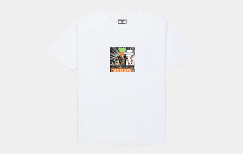 NOISE DEALER TEE [WHITE] - Boogiemade
