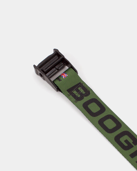 NIGHT SHOW BELT [OLIVE] - Boogiemade