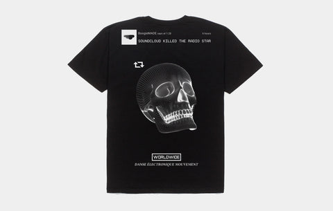 KILLED THE RADIO TEE [BLACK]