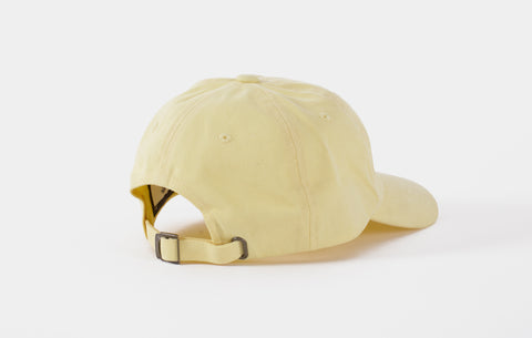 SUMMER CAP [PASTEL YELLOW]