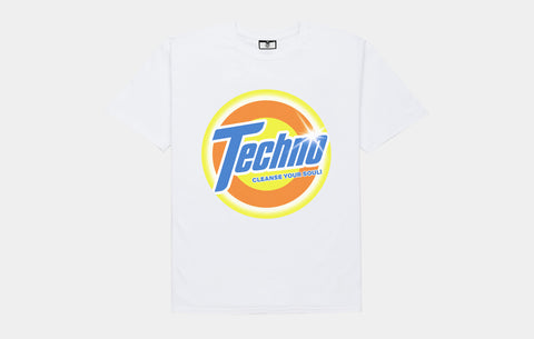 TECHNO CLEAN TEE [LAUNDRY WHITE]