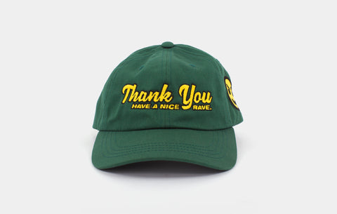THANK YOU! CAP [SPRUCE GREEN] - Boogiemade