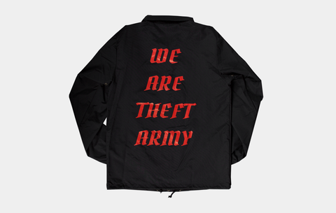 THEFT ARMY WINDBREAKER [V2]