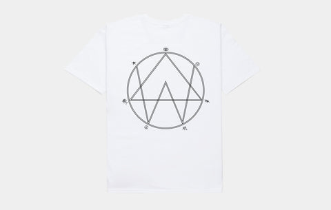 ALISON WONDERLAND 'SPIRITUAL LEVEL' TEE [WHITE]