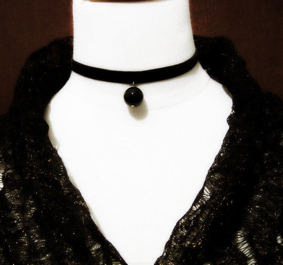 Pendant Chain Locked Choker Necklace