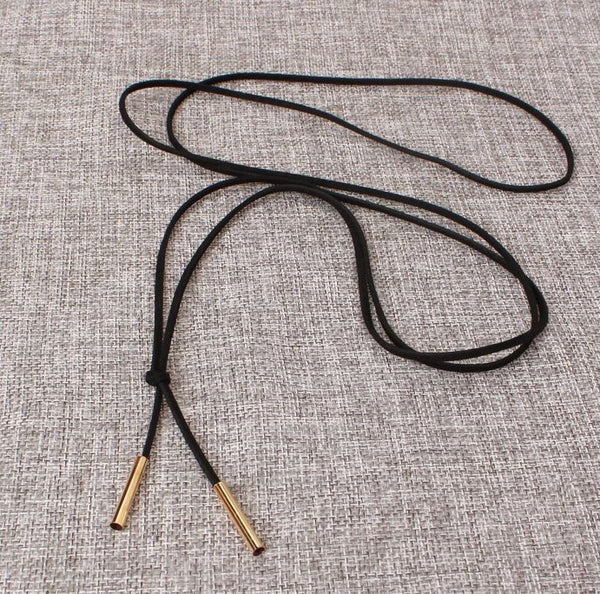 Leather Necklace with Pendants Buy -1 Get - 1