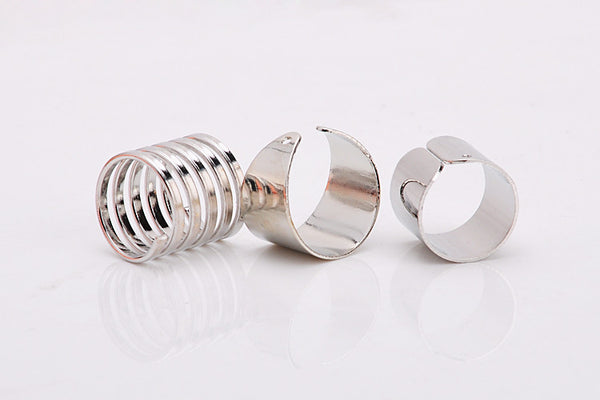 Three Piece Adjustable Ring Set