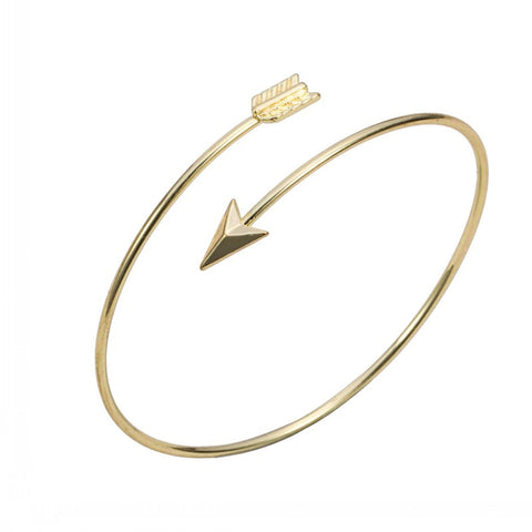 Adjustable Arrow Bangle Bracelets