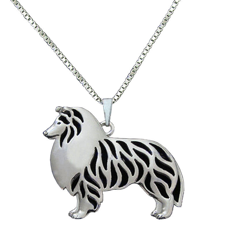 Dog pendant chain necklaces beold dog pendant chain necklaces aloadofball Image collections
