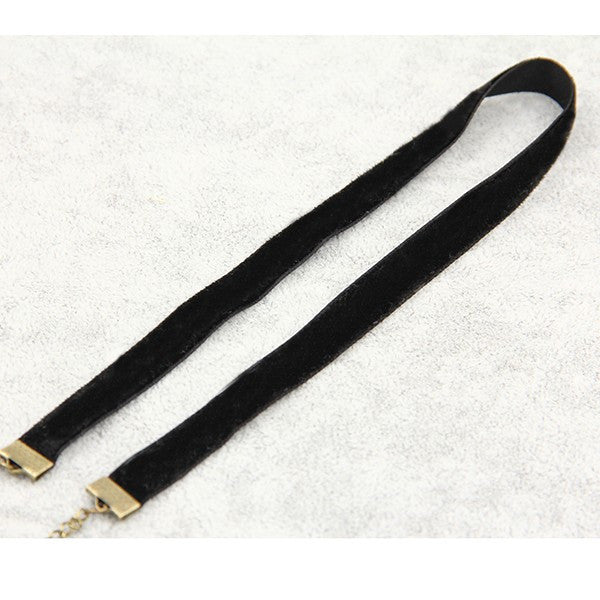 Black Velvet Necklace