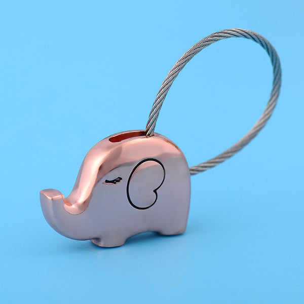 Elephant Pair Key Chains