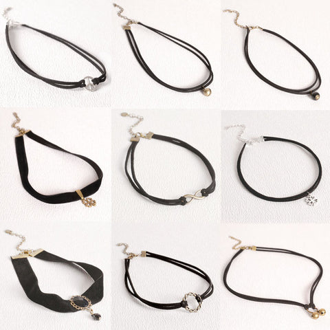Black Vintage Chokers