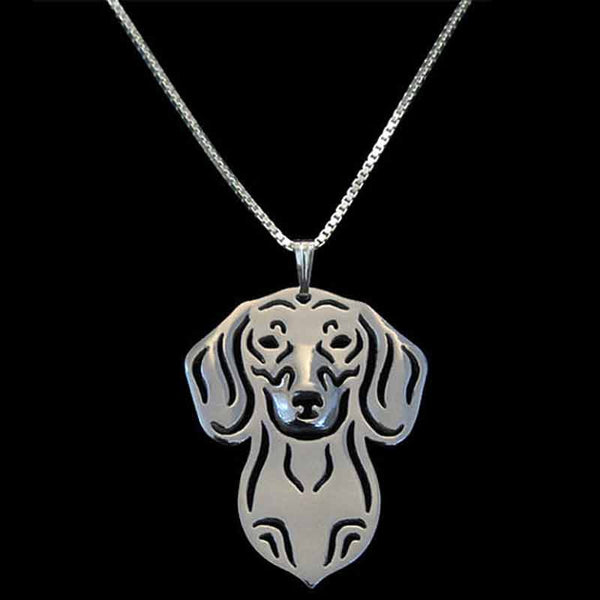 Dog Pendant Chain Necklaces