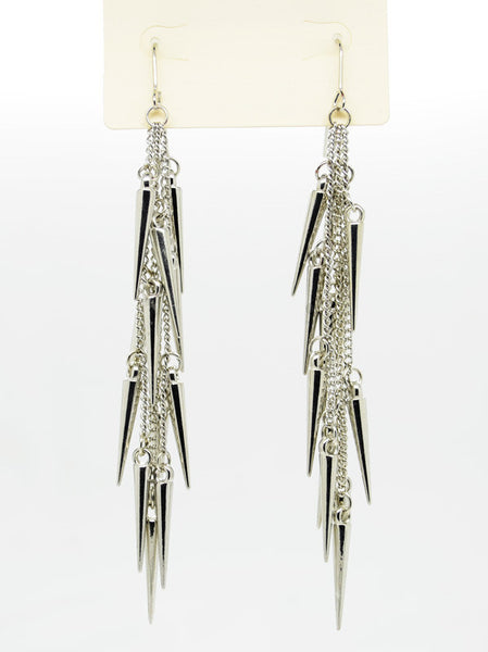 Dangling Spiked Earrings