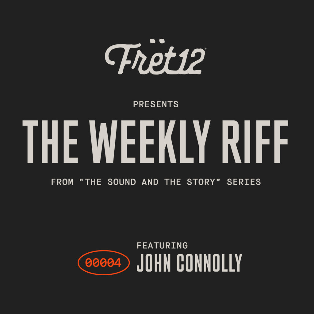 The Weekly Riff graphic featuring John Connolly
