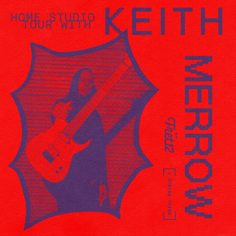 home studio tour with keith merrow with image of keith and guitar