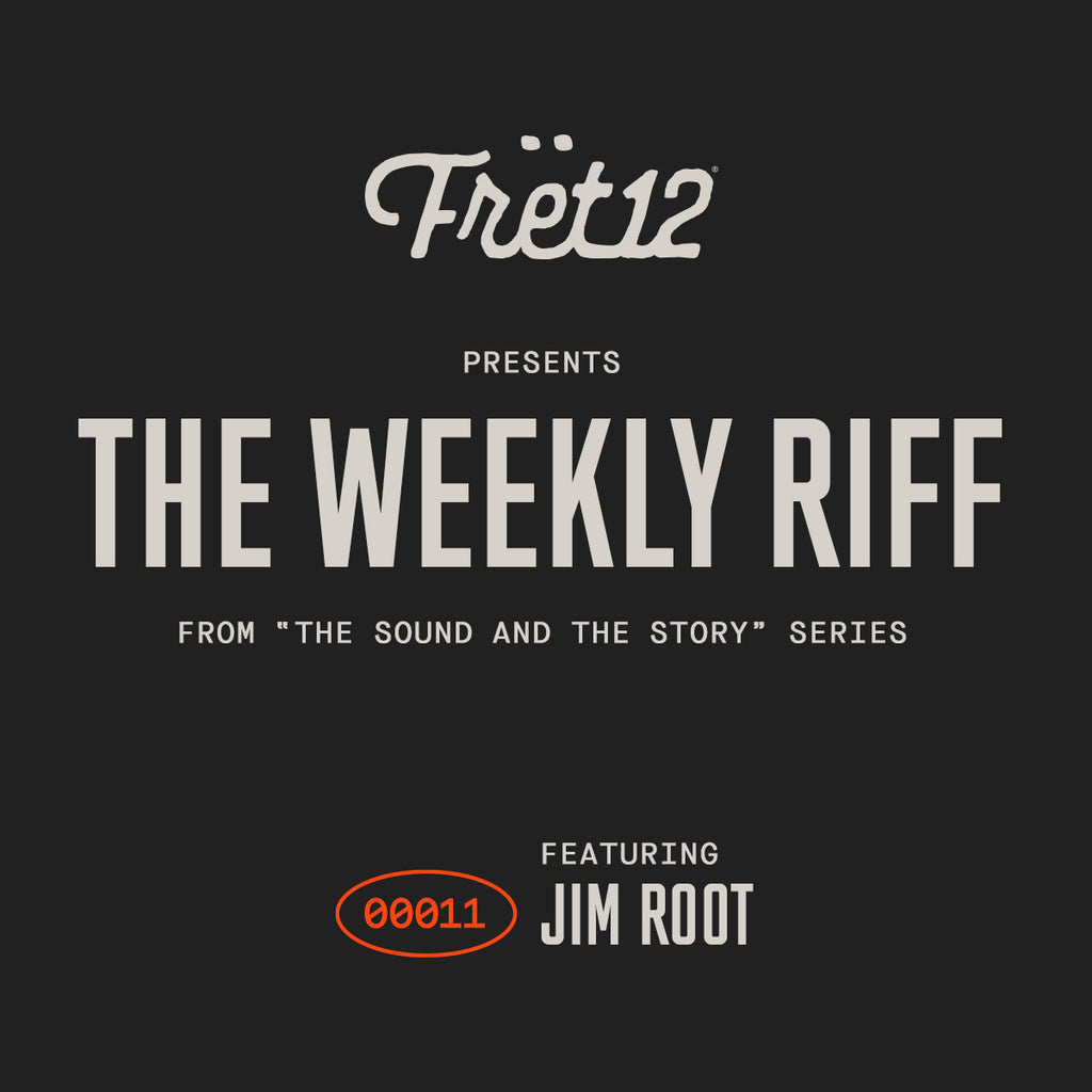weekly riff from the sound and the story featuring jim root