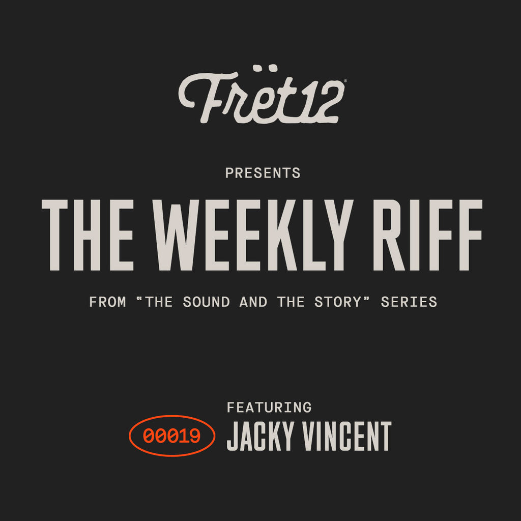 Weekly Riff from The Sound and The Story - Jacky Vincent
