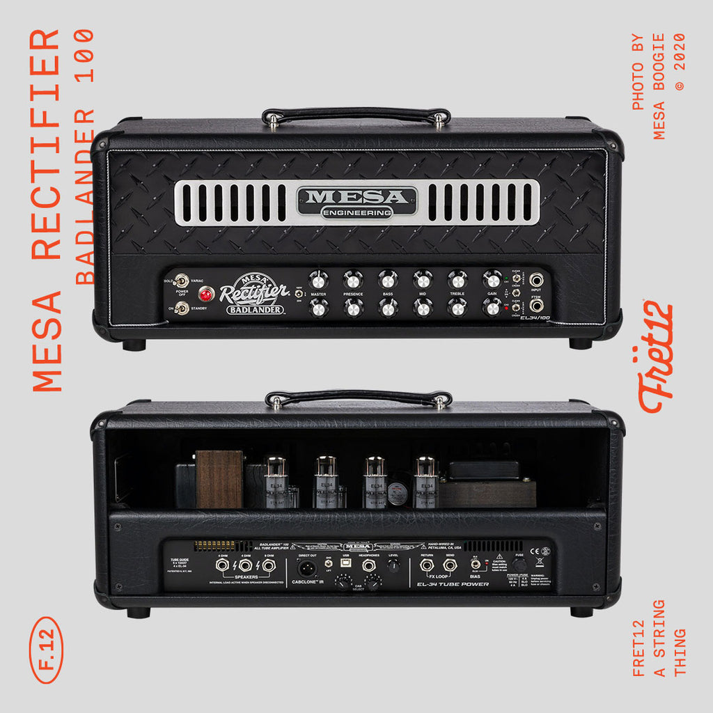 Mesa Boogie brings the iconic Rectifier into the 2020s with an EL34-inspired bang!
