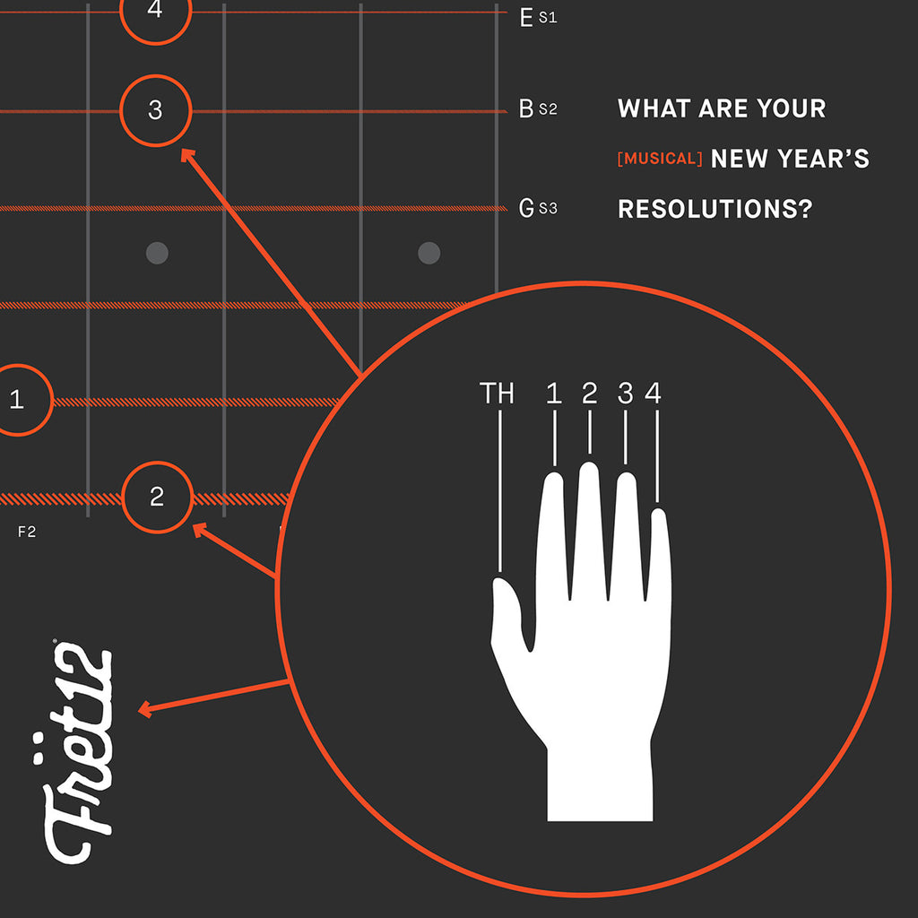 Fret12 New Year's Resolution and guitar chords