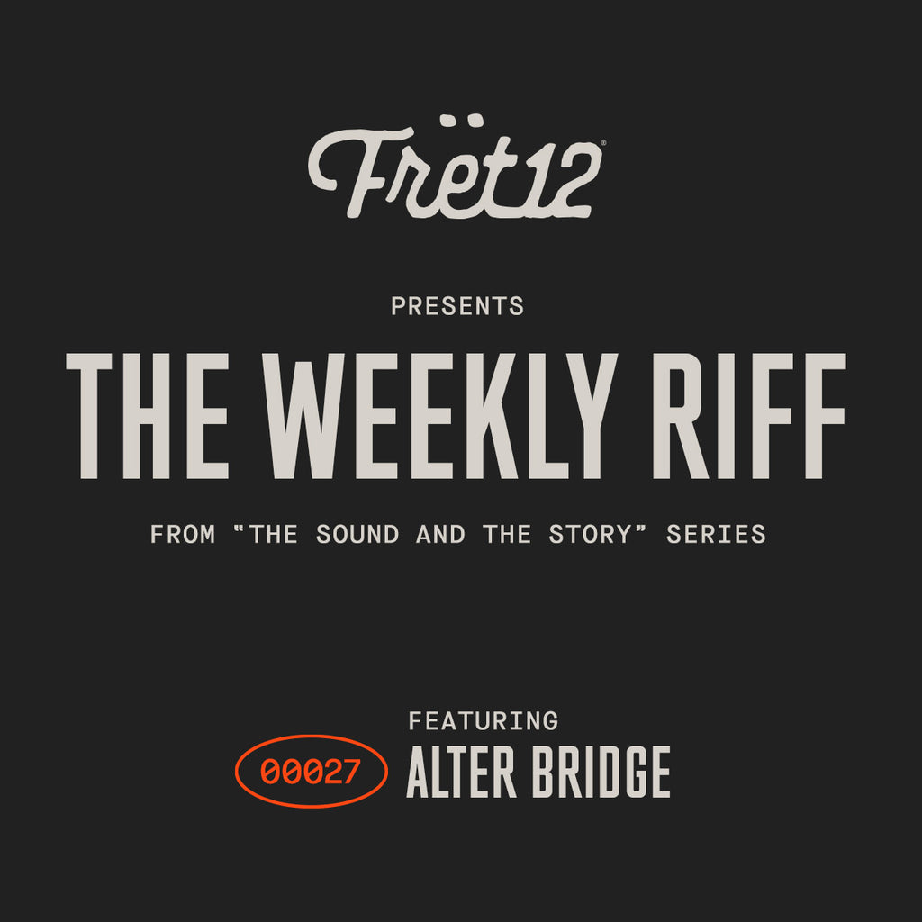 "Weekly Riff from The Sound and The Story - Alter Bridge playing ""Waters Rising"""