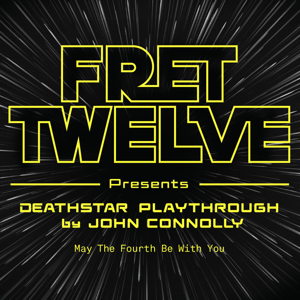 "Weekly Riff from The Sound and The Story - John Connolly playing ""Deathstar"""