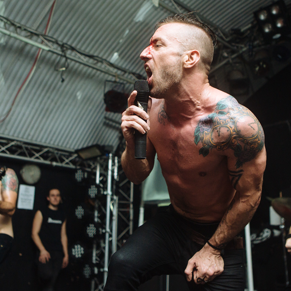 Greg Puciato of The Dillinger Escape Plan