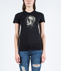 Fret Twelve - Strung Out Skull - Girls Tee