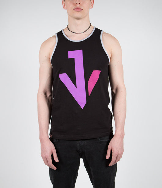 Jacky Vincent (Falling In Reverse, Cry Venom): JV Logo Sleeveless Shirt