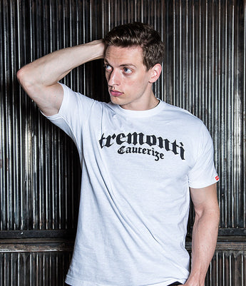 Tremonti: White Cauterize Logo Tee