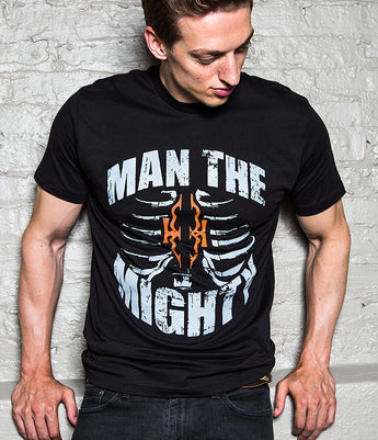 Man The Mighty - Rib Cage Tee