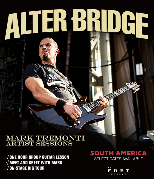 Mark Tremonti: Artist Session - SOUTH AMERICA TOUR 2017