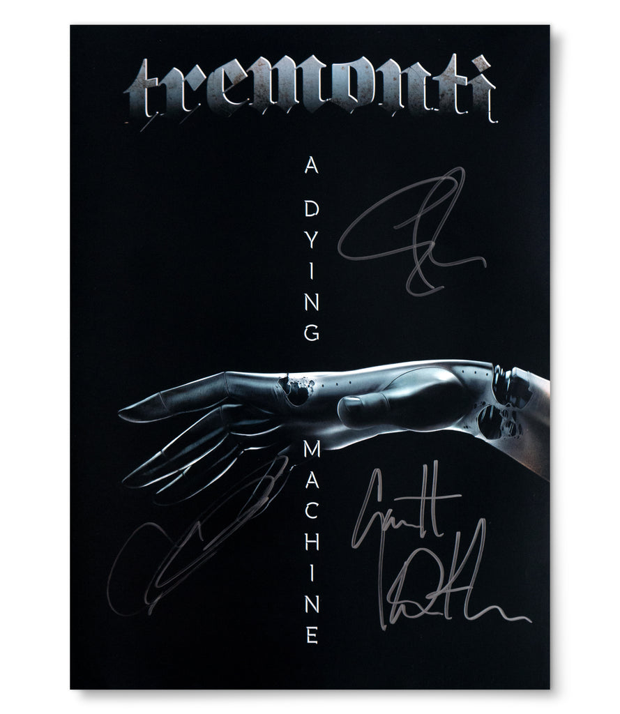 "Limited Edition TREMONTI ""A Dying Machine"" Autographed Poster"