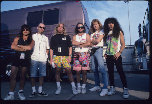 Clash of the Titans, Slayer, Anthrax and Megadeth axemen, 1991