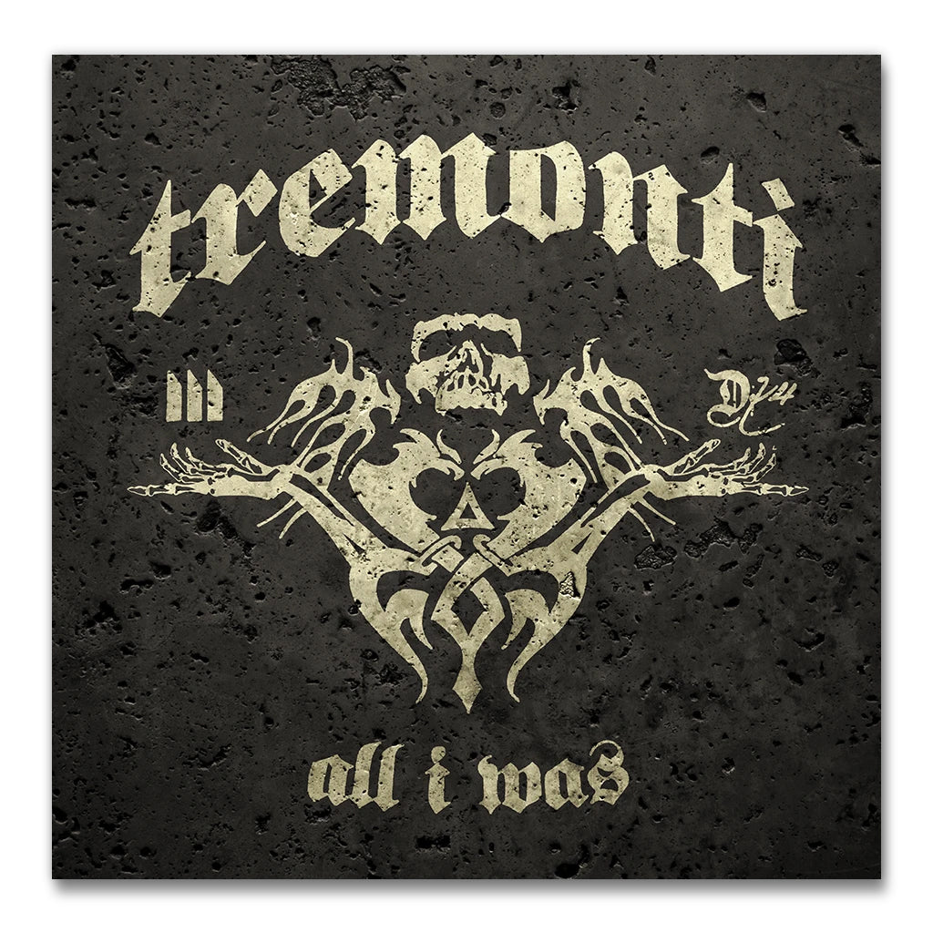 TREMONTI – ALL I WAS CD + SIGNED COVER CARD