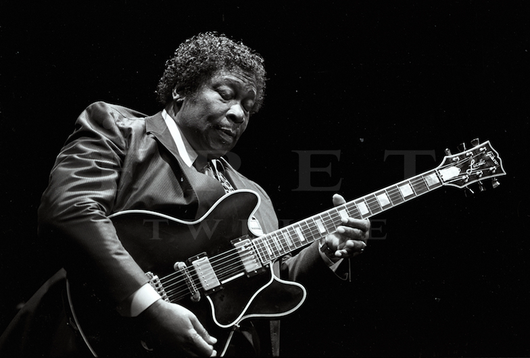 BB King, Chicago Early 1980s