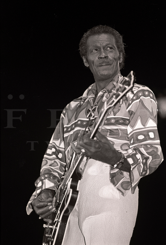 Chuck Berry, Chicago 1980s