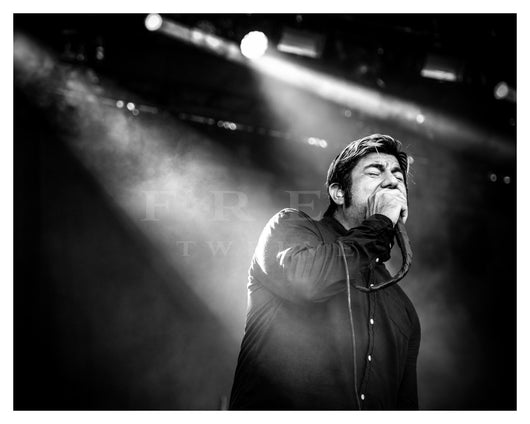 Chino Moreno of Deftones, Riot Fest Chicago 2016