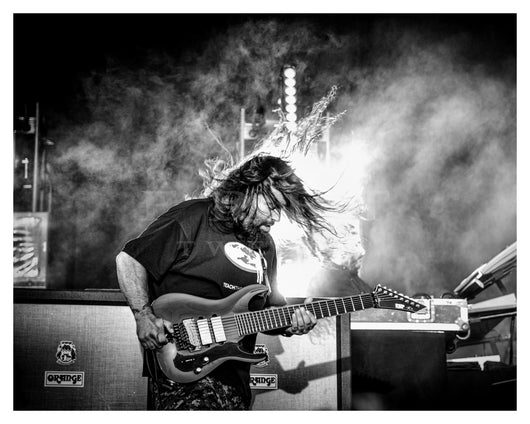 Stephen Carpenter of Deftones, Riot Fest Chicago 2016