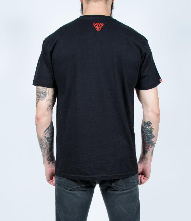 JIM ROOT (Slipknot) ELEMENT TEE – BLACK